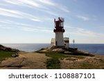 photo of lindesnes beacon in... | Shutterstock . vector #1108887101