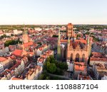 photo of the old town of gdansk ... | Shutterstock . vector #1108887104