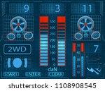 car service. scanning....   Shutterstock .eps vector #1108908545