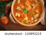 Delicious Veal Stew Soup With...