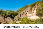 ruins of a former mine english... | Shutterstock . vector #1108923857