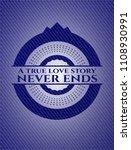 a true love story never ends... | Shutterstock .eps vector #1108930991