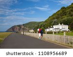 lynmouth  great britain   july... | Shutterstock . vector #1108956689