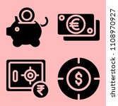 business icons set of accurate  ...   Shutterstock .eps vector #1108970927