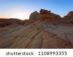 scenic landscapes in the desert ... | Shutterstock . vector #1108993355