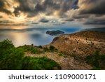 assos village  kefalonia island ... | Shutterstock . vector #1109000171