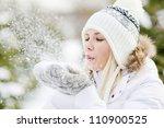 A Girl Wearing Warm Winter...