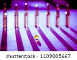 scattered tablets  pills ... | Shutterstock . vector #1109005667
