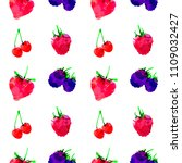 seamless pattern with... | Shutterstock .eps vector #1109032427