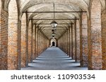 sabbioneta  mantua  italy   the ... | Shutterstock . vector #110903534