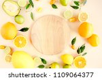 board frame and summer tropical ... | Shutterstock . vector #1109064377