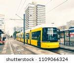 berlin yellow subway  u bahn ... | Shutterstock . vector #1109066324