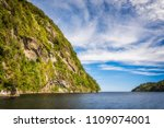 adventure cruise at doubtful... | Shutterstock . vector #1109074001