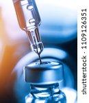 medical concept vaccination... | Shutterstock . vector #1109126351