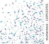 confetti of two colored rhombs... | Shutterstock .eps vector #1109131931