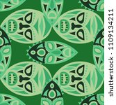 vector illustration. african... | Shutterstock .eps vector #1109134211
