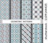 octagon geometric vector...   Shutterstock .eps vector #1109144435
