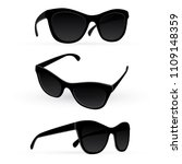 sunglasses. realistic vector... | Shutterstock .eps vector #1109148359