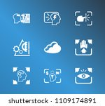 creative process icon set and...   Shutterstock .eps vector #1109174891