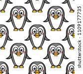 vector seamless pattern of... | Shutterstock .eps vector #1109177735