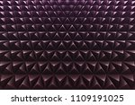 abstract 3d minimalistic... | Shutterstock . vector #1109191025