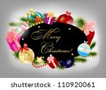 abstract beauty christmas and... | Shutterstock .eps vector #110920061