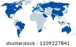 g20  group of twenty  map....   Shutterstock .eps vector #1109227841