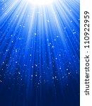 stars on blue striped...   Shutterstock .eps vector #110922959