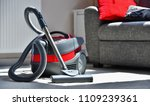 canister vacuum cleaner for... | Shutterstock . vector #1109239361
