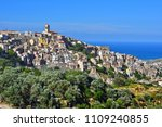 the village of badolato in the... | Shutterstock . vector #1109240855