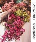 hippie crafts in hippie markets ... | Shutterstock . vector #1109298764