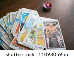 photo cards for fortune telling ... | Shutterstock . vector #1109305955
