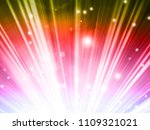 abstract background with beams... | Shutterstock . vector #1109321021