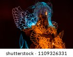 anatomy costume of crystal... | Shutterstock . vector #1109326331