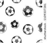 abstract seamless football... | Shutterstock .eps vector #1109337281