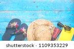 vacation summer holidays still... | Shutterstock . vector #1109353229