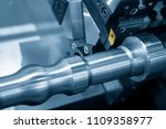 the cutting tool of cnc lathe... | Shutterstock . vector #1109358977