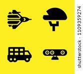 helmet  transportation truck ... | Shutterstock .eps vector #1109359274