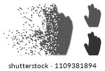 gray vector manage hand icon in ...   Shutterstock .eps vector #1109381894