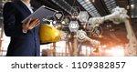 a futuristic architect ... | Shutterstock . vector #1109382857