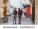 guatemala   march 31   two... | Shutterstock . vector #1109401217
