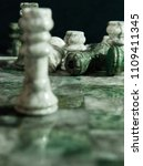 Small photo of Chess Game Marble