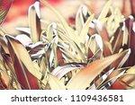blurry garden leaf digital... | Shutterstock . vector #1109436581