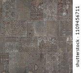 floor brown decor design ...   Shutterstock . vector #1109456711