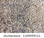texture of dried cracked... | Shutterstock . vector #1109459111