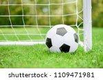 classic football  soccer  ball...   Shutterstock . vector #1109471981
