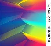 retro graphics. trendy texture. ... | Shutterstock .eps vector #1109495849