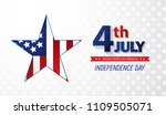 fourth of july independence day.... | Shutterstock .eps vector #1109505071