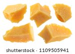 parmesan cheese isolated on... | Shutterstock . vector #1109505941