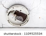 obsolete light bulb without a... | Shutterstock . vector #1109525534